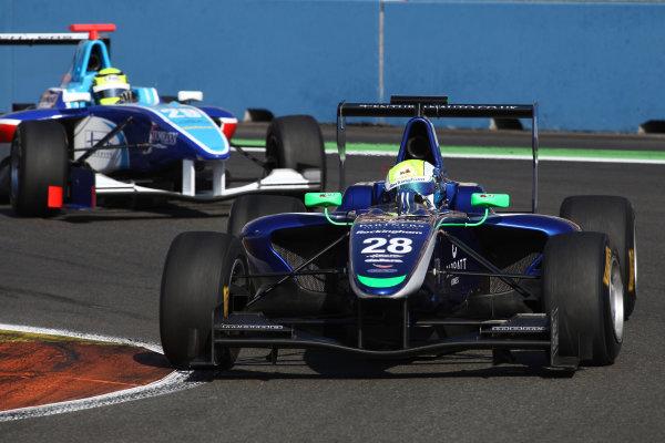 2012 GP3 Series, Round 3.Valencia, Spain. 24th June 2012. Sunday Race 2. William Buller (GBR, Carlin) Action. World Copyright:  Daniel Kalisz/LAT Photographic Ref: Digital Image IMG_2034