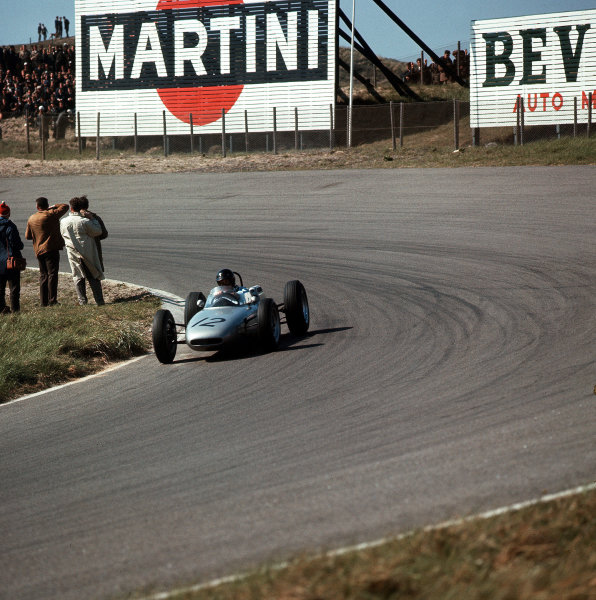 Zandvoort, Holland.18-20 May 1962.Dan Gurney (Porsche 804).Ref-3/0469.World Copyright - LAT Photographic