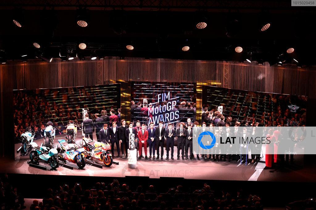 2017 MotoGP Championship - Round 18 Valencia, Spain  Sunday 12 November 2017 Awards winners  World Copyright: Gold and Goose Photography/LAT Images  ref: Digital Image 706781