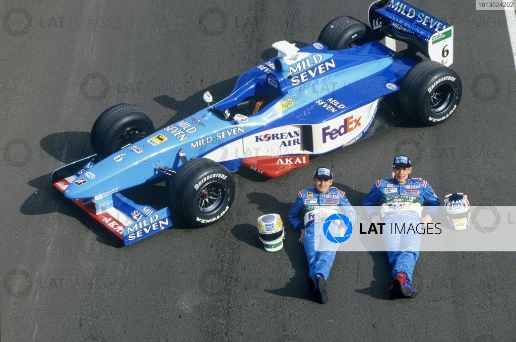 1998 Benetton B198 launch.