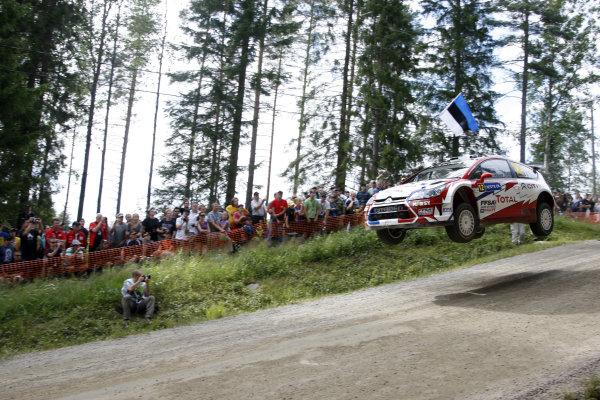 Round 09Rally Finland 39Juli-3 August  2009Sebastien Ogier, Citroen WRC, Action.Worldwide Copyright: McKlein/LAT