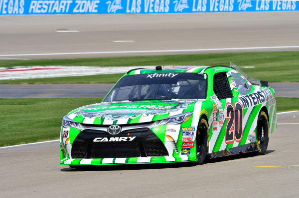 2017 NASCAR Xfinity Series - Boyd Gaming 300 Las Vegas Motor Speedway - Las Vegas, NV USA Friday 10 March 2017 Daniel Suarez, Interstate Batteries Toyota Camry World Copyright: John K Harrelson / LAT Images ref: Digital Image 17LAS1jh_00583