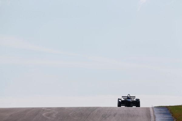 FIA Formula E Test Day, Donington Park, UK.  9th - 10th July 2014.  Jarno Trulli, Trulli GP. Photo: Sam Bloxham/FIA Formula E ref: Digital Image _SBL9094