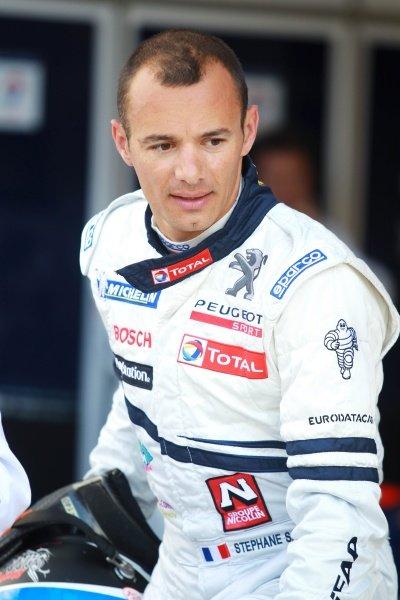 Stephane Sarrazin (FRA) Team Peugeot Total. Le Mans 24 Hours Practice and Qualifying, La Sarthe, Le Mans, France, 9 June 2010.