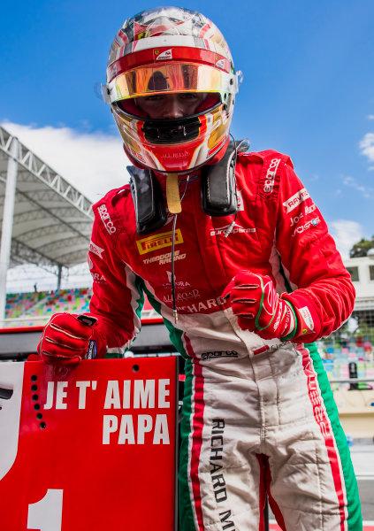 2017 FIA Formula 2 Round 4. Baku City Circuit, Baku, Azerbaijan. Friday 23 June 2017. Charles Leclerc (MCO, PREMA Racing)  Photo: Zak Mauger/FIA Formula 2. ref: Digital Image _54I0907
