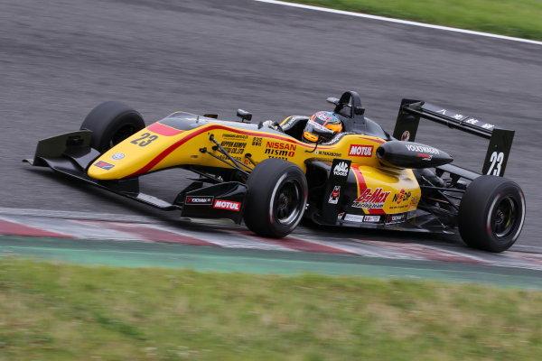 2017 Japanese Formula 3 Championship. Suzuka, Japan. 24th - 25th June 2017. Rd 10 & 11. Rd11 3rd position Mitsunori Takaboshi ( #23 B-MAX NDDP F3 ) action World Copyright: Masahide Kamio / LAT Images. Ref: 2017JF3_Rd11_08