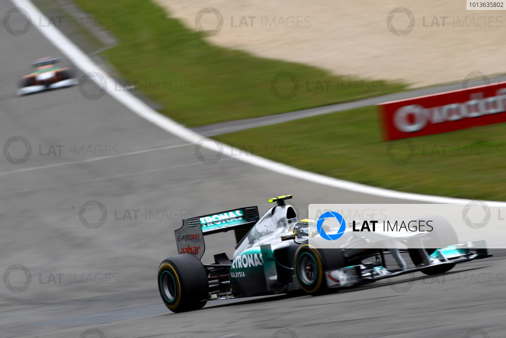 Nurburgring, Germany.24th July 2011Nico Rosberg, Mercedes GP W02, 7th position. Action. World Copyright: Andy Hone/LAT Photographicref: Digital Image CSP13284
