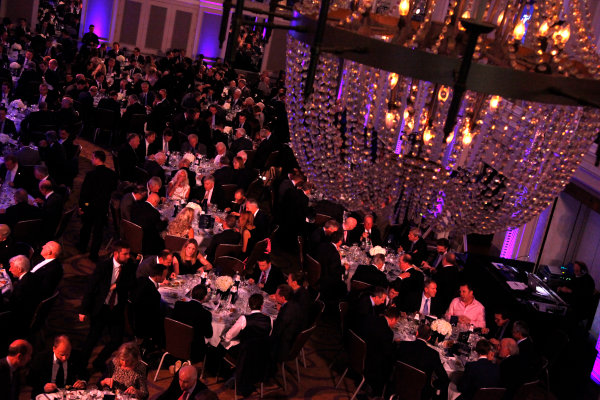 2014 BRDC Annual Awards The Grand Connaught Rooms, London, UK Monday 8 December 2014. Guests sit down to dinner. World Copyright: Ebrey/LAT Photographic. ref: Digital Image General-01