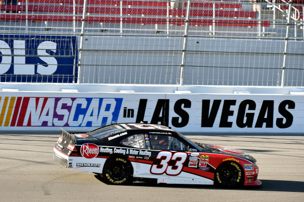 6-7 March 2015, Las Vegas, Nevada USA Austin Dillon celebrates his win ? 2015, Nigel Kinrade LAT Photo USA