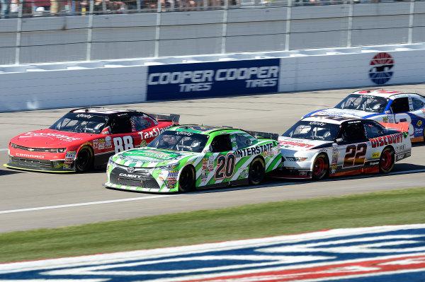 6-7 March, 2015, Las Vegas, Nevada USA Dale Earnhardt Jr, Erik Jones, Interstate Batteries Toyota Camry, Ryan Blaney ?2015, John Harrelson/LAT Photo USA