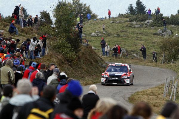 Round 11Rally de France 30/9-3/10Fredrico Villagra Ford WRC, Action.Worldwide Copyright: McKlein/LAT