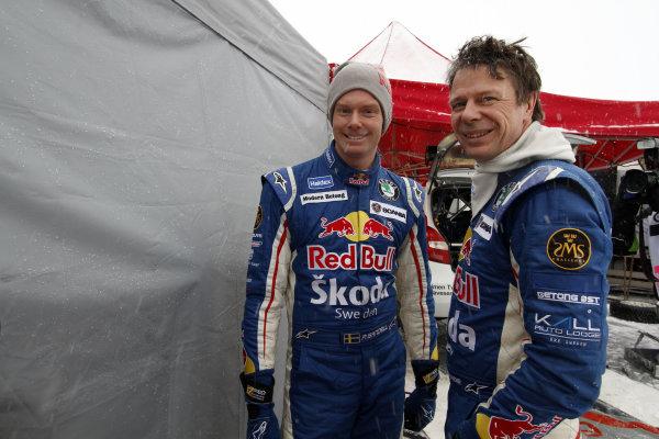 Round 01-Rally Sweden. 10th-13th February 2011.Patrik Sandell, Staffan Parmander, Skoda  SWRC, PortraitWorldwide Copyright: McKlein/LAT