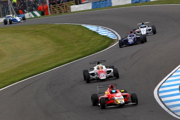 2015 MSA Formula Powered by Ford EcoBoost, Donington Park, Leicestershire. 16th - 19th April 2015. Ricky Collard (GBR) TRS Arden MSA Formula. World Copyright: Ebrey / LAT Photographic.