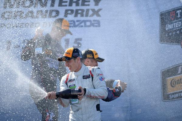 1-3 May, 2015, Monterey, CaliforniaUSA podium, champagne ©2015, Richard Dole LAT Photo USA