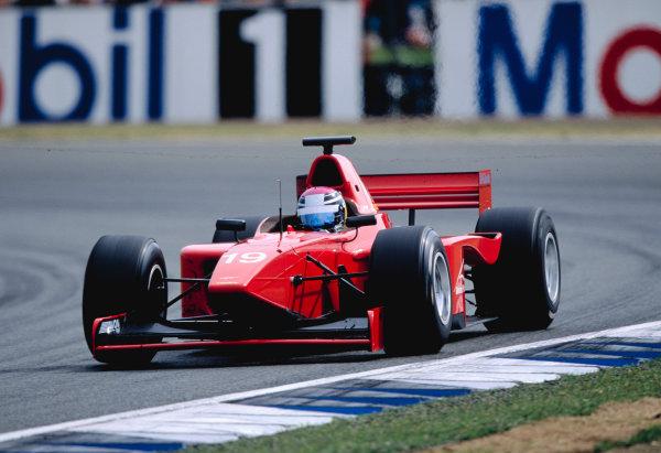 2003 International F3000 - raceSilverstone, England. 20th July 2003Marc HynesWorld Copyright - LAT Photographicref: Priority F3K A0