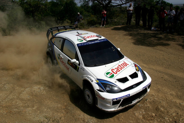2004 FIA World Rally Champs. Round five, Cyprus Rally.14th- 16th May 2004.Marrko Martin, Ford, action.World Copyright: McKlein/LAT