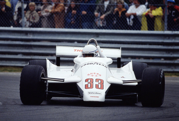 1982 Canadian Grand Prix.Montreal, Quebec, Canada.11-13 June 1982.Geoff Lees (Theodore TY02 Ford).Ref-82 CAN 31.World Copyright - LAT Photographic