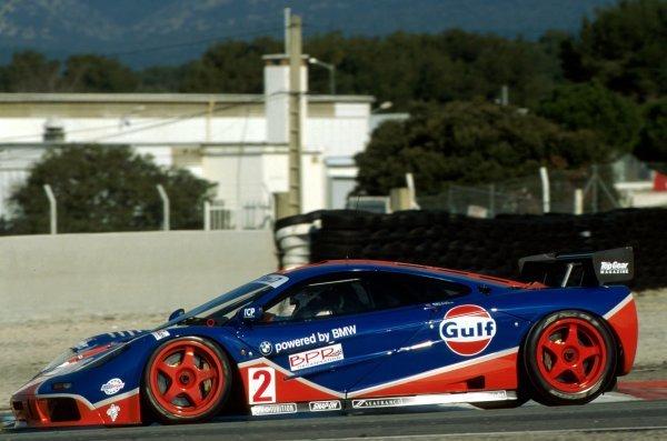 James Weaver (GBR) GTC Competition McLaren F1 GTR won the race.BPR Global Endurance GT Series, Paul Ricard, France, 3 March 1996.BEST IMAGE