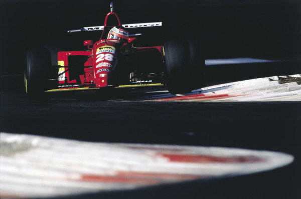 2003 Racing Past. . Exhibition1995 Italian Grand Prix, Monza. Gerhard Berger (Ferrari 412T2).World Copyright - LAT PhotographicExhibition ref: a008