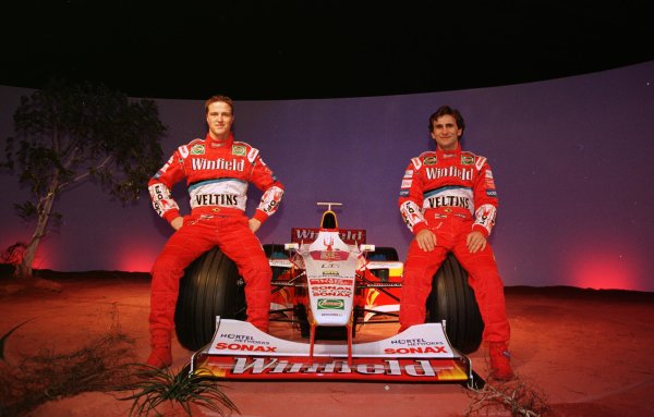 25.01 99-Winfield Williams F1 Launch