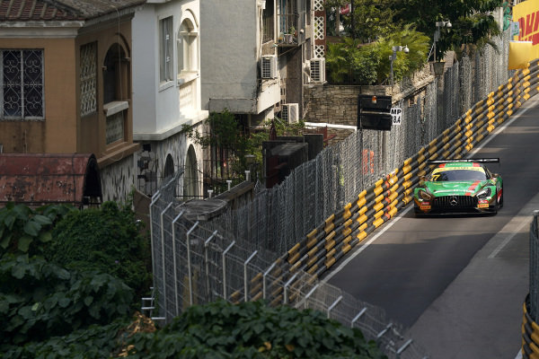 #77 Mercedes-AMG Team Craft Bamboo Racing Mercedes AMG GT3: Edoardo Mortara.
