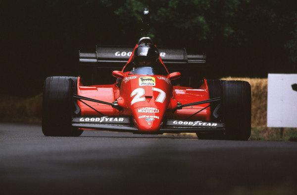2000 Festival of Speed.Goodwood, England, Great Britain. 23-25 June 2000.1983 Ferrari 126C3.World - LAT Photographic