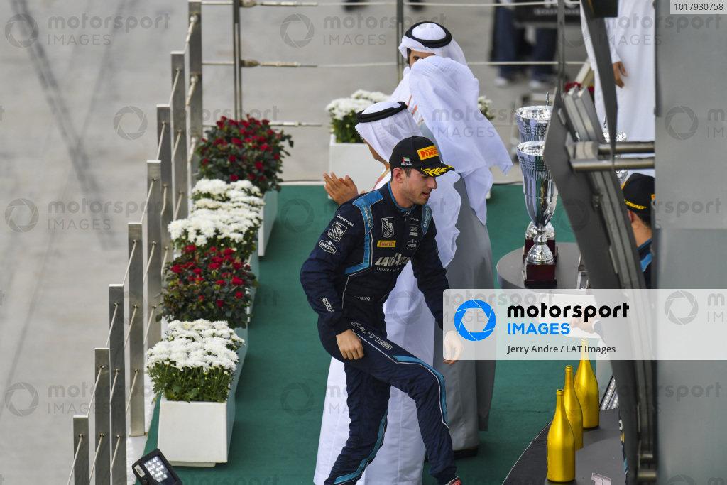 Nicholas Latifi (CAN, DAMS), on the podium in race two