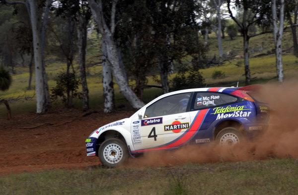 2001 World Rally ChampionshipTelstra Rally Australia, Perth, WA. 1-4 November 2001.Colin McRae on stage 6.Photo: Ralph Hardwick/LAT