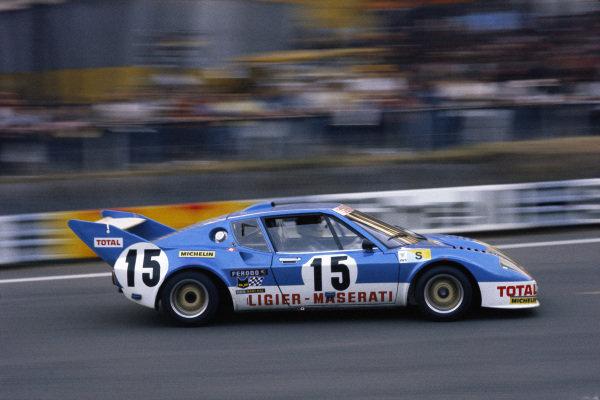 Jacques Laffite / Alain Serpaggi, Automobiles Ligier, Ligier JS2 Maserati.