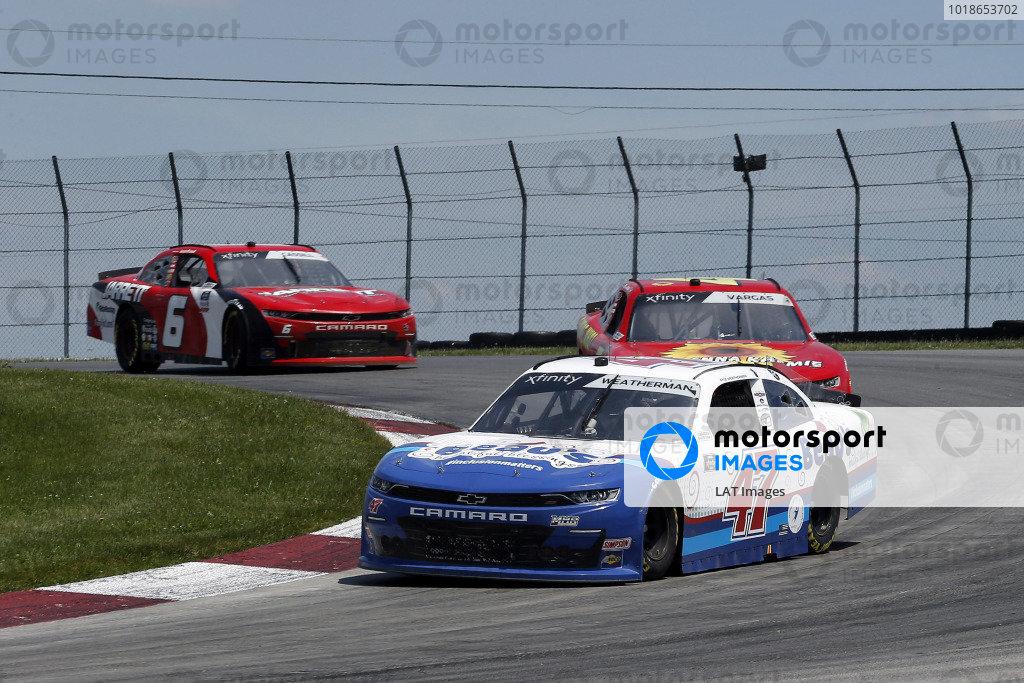 #47: Kyle Weatherman, Mike Harmon Racing, Chevrolet Camaro Thin Gold Line Solutions