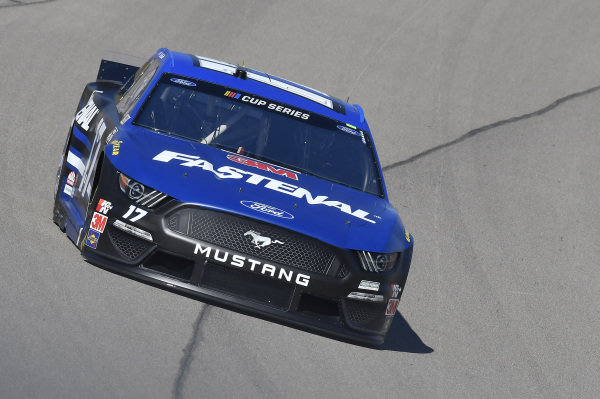 #17: Chris Buescher, Roush Fenway Racing, Ford Mustang Fastenal