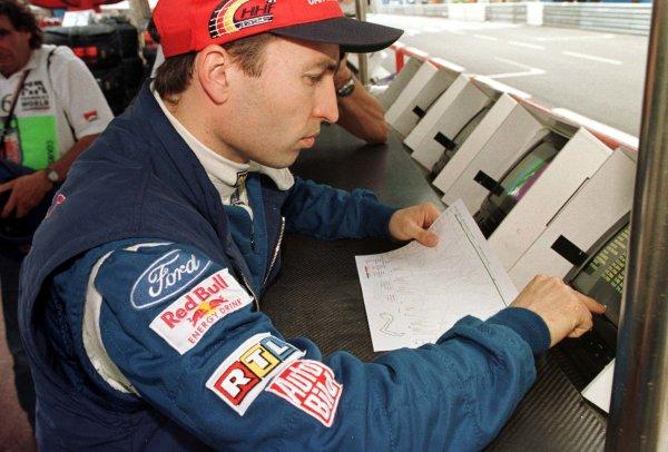 Monaco Grand Prix.Monte Carlo, Monaco.16-19 May 1996Heinz-Harald Frentzen (Sauber Ford).World Copyright - LAT Photographic