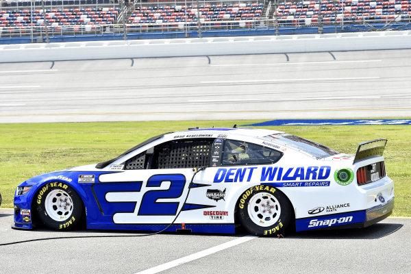 #2: Brad Keselowski, Team Penske, Ford Mustang Dent Wizard