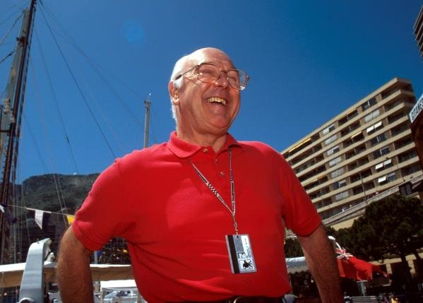 BBC TV Commentator Murray Walker (GBR). 