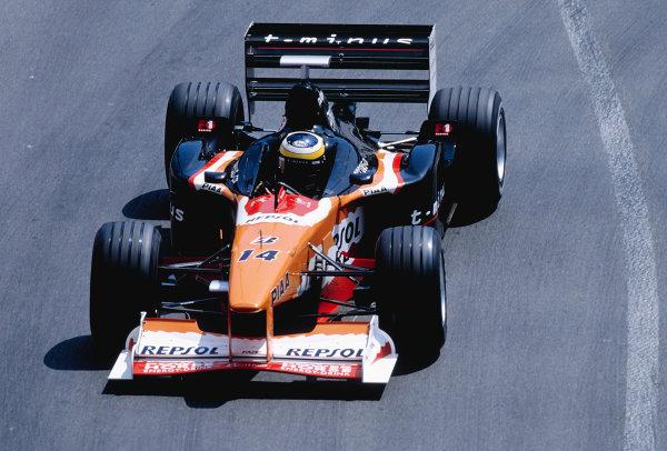 1999 Monaco Grand Prix.Monte Carlo, Monaco. 13-16 April 1999.Pedro de la Rosa (Arrows A20).Ref-99 MON 101.World Copyright - Charles Coates/LAT Photographic