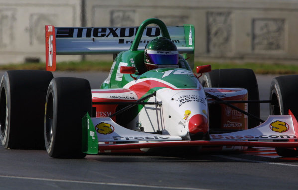 2001 Indy Lights Monterrey Mexico, 8-12 March, 2001, Fundidora Park, Monterrey, MexicoRudy Junco-2001, Phil Abbott, USALAT Photographic