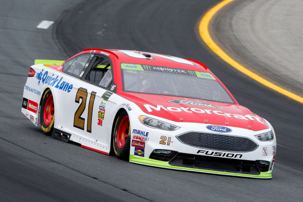 Monster Energy NASCAR Cup Series ISM Connect 300 New Hampshire Motor Speedway Loudon, NH USA Friday 22 September 2017 Ryan Blaney, Wood Brothers Racing, Motorcraft/Quick Lane Tire & Auto Center Ford Fusion World Copyright: Lesley Ann Miller LAT Images
