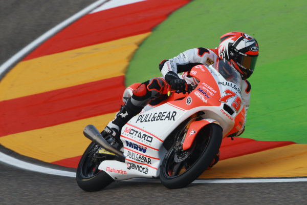 2017 Moto3 Championship - Round 14 Aragon, Spain. Saturday 23 September 2017 Albert Arenas, Aspar Team World Copyright: Gold and Goose / LAT Images ref: Digital Image 14021