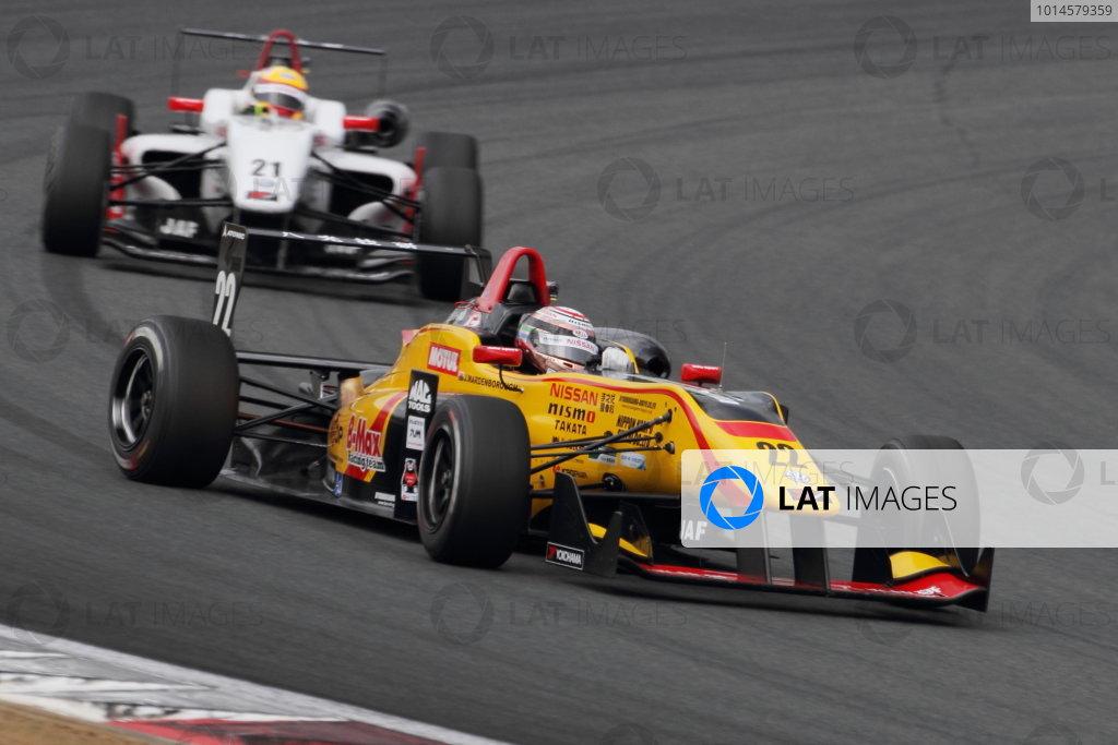 2016 Japanese Formula 3 Championship Fuji, Japan. 14th-15th May 2016. Rd 3 & 4. Jann Mardenborough ( #22 B-MAX NDDP F3 ), 2nd position. World Copyright: Hideaki Kobayashi/LAT Ref: (filenamebase}