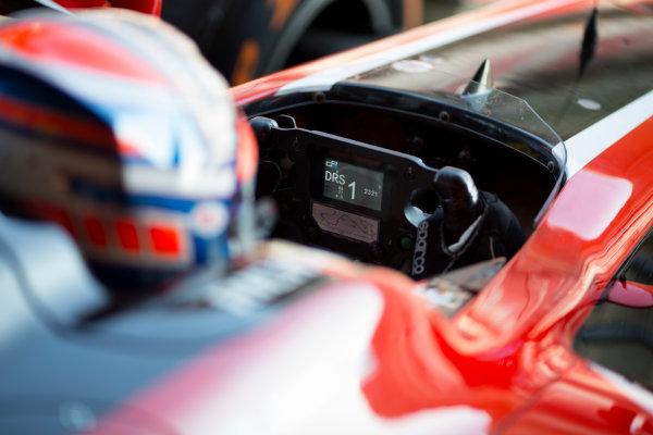 Circuit de Barcelona Catalunya, Barcelona, Spain. Wednesday 15 March 2017. Alexander Albon (THA, ART Grand Prix). Photo: Alastair Staley/FIA Formula 2 ref: Digital Image 585A0269