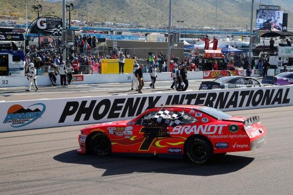 2017 NASCAR Xfinity Series DC Solar 200 Phoenix International Raceway, Avondale, AZ USA Saturday 18 March 2017 Justin Allgaier World Copyright: Matthew T. Thacker/LAT Images ref: Digital Image 17PHX1mt1432