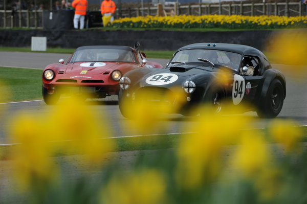 2017 75th Members Meeting Goodwood Estate, West Sussex,England 18th - 19th March 2017 Graham Hill Trophy Wolfe Gans Cobra World Copyright : Jeff Bloxham/LAT Images Ref : Digital Image