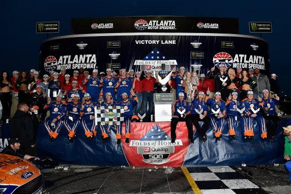 2017 Monster Energy NASCAR Cup Series - Fold of Honor QuikTrip 500 Atlanta Motor Speedway, Hampton, GA USA Sunday 5 March 2017 Brad Keselowski World Copyright: Rusty Jarrett/LAT Images ref: Digital Image 17ATL1rj_2863