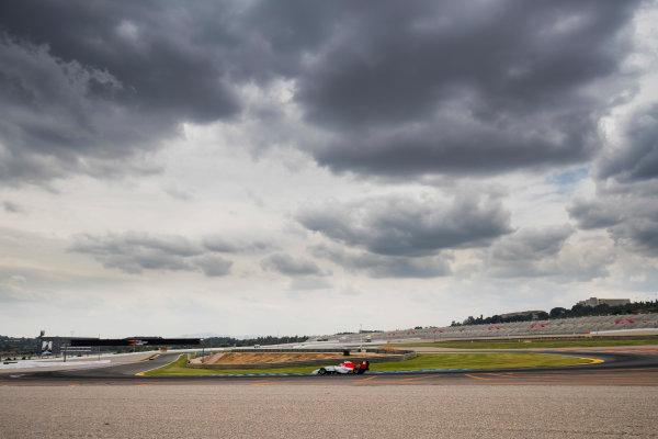 2016 GP3 Series Test 3. Circuit Ricardo Tormo, Valencia, Spain. Wednesday 26 April 2017. Marcos Siebert (ARG, Campos Racing)  Photo: Zak Mauger/GP3 Series Media Service. ref: Digital Image _56I6410