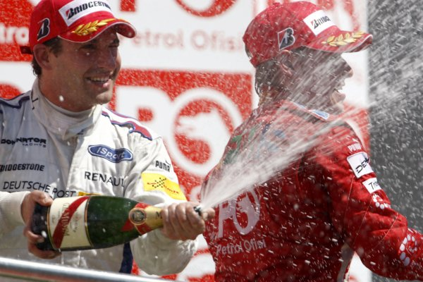 2007 GP2 Series. Round 8.Istanbul Park, Istanbul Turkey. 26th August 2007. Sunday Race.Timo Glock (GER, iSport International) celebrates victory. World Copyright: Andrew Ferraro/GP2 Series Media Service.ref: Digital ImageIMG_5973