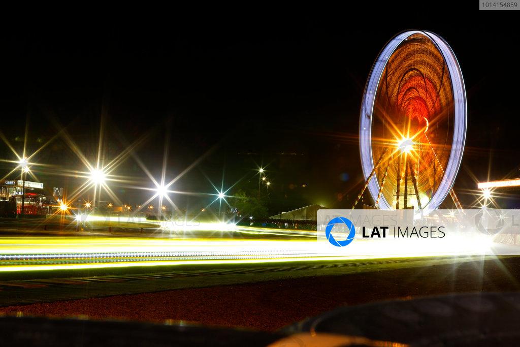 2014 Le Mans 24 Hours. Circuit de la Sarthe, Le Mans, France. Saturday 14 June 2014. Night at Le Mans. World Copyright: Adam Warner/LAT Photographic. ref: Digital Image _L5R2778