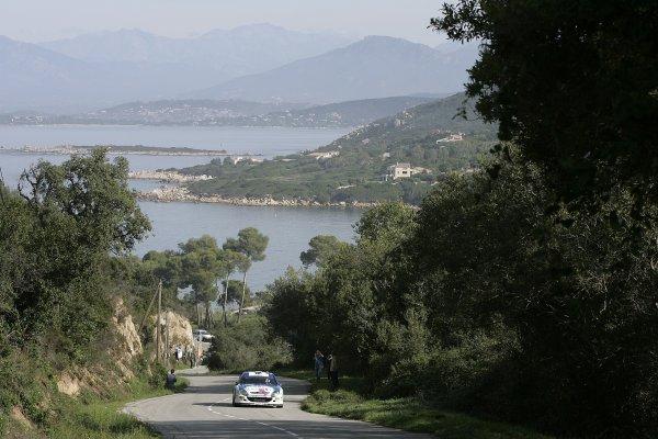 2005 FIA World Rally Champs. Round fourteenRallye De France.20th-23rd October 2005.Xavier Pons, Citroen, action.World Copyright: McKlein/LAT