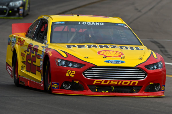 March 1-3, 2013 Avondale, Arizona USA Joey Logano car.(c) 2013, Brian Czobat LAT Photo USA .