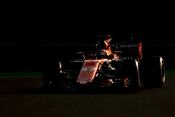 Hungaroring, Budapest, Hungary. Wednesday 2 August 2017. Lando Norris, McLaren MCL32 Honda. World Copyright: Zak Mauger/LAT Images ref: Digital Image _56I9882
