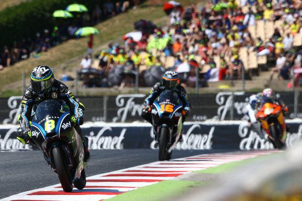 2017 Moto3 Championship - Round 7 Circuit de Catalunya, Barcelona, SpainSunday 11 June 2017 Nicolo Bulega, Sky Racing Team VR46 World Copyright: Gold & Goose Photography/LAT Images ref: Digital Image 677391
